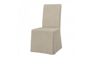 HENRIKSDAL chair cover, long