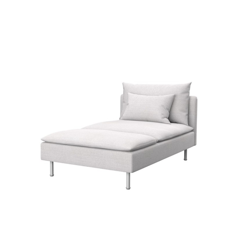 Ikea s derhamn chaise longue cover soferia covers for for Chaise longue cover
