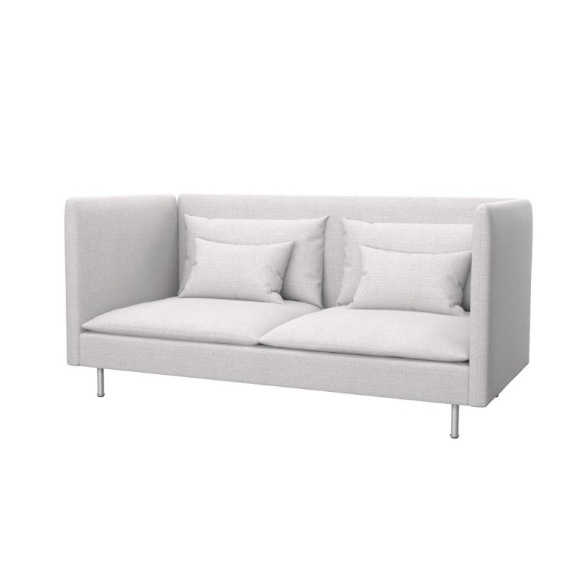 ikea s derhamn 3 seat sofa cover high back soferia. Black Bedroom Furniture Sets. Home Design Ideas