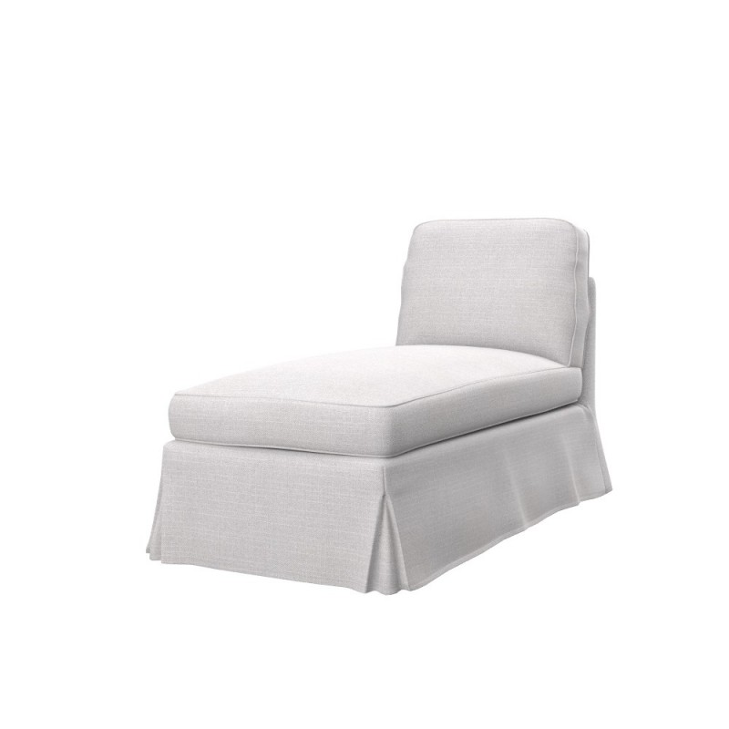 Ikea ektorp free standing chaise longue cover soferia for Chaise longue ikea