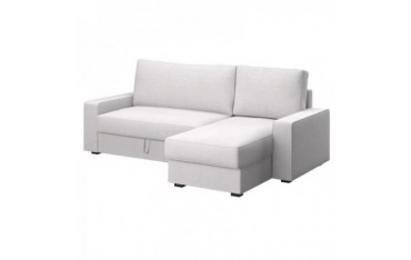 VILASUND sofa-bed with chaise longue cover