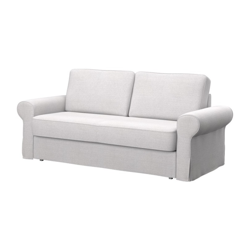 Ikea backabro 3 seat sofa bed cover soferia covers for for Sofa bed 2 seater ikea