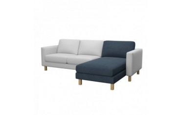 IKEA KARLSTAD add-on chaise longue cover
