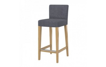 HENRIKSDAL hocker chair cover with backrest