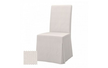 HENRIKSDAL chair cover, long